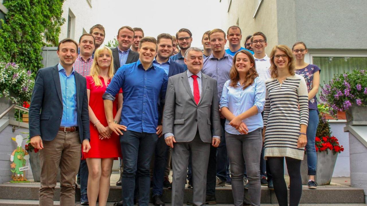 Herbert Reul auf dem Kreisparteitag der CDU MK