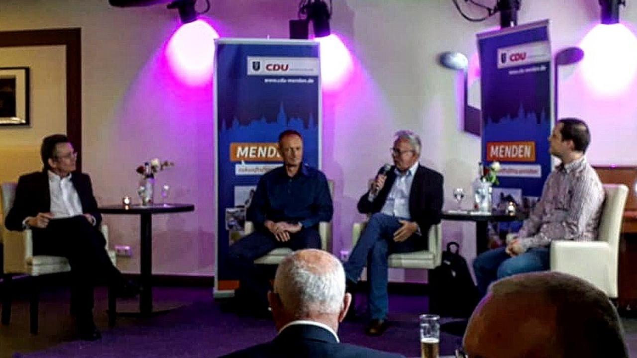 """Politik mal anders"" der CDU Menden u.a. mit Mike Stern"