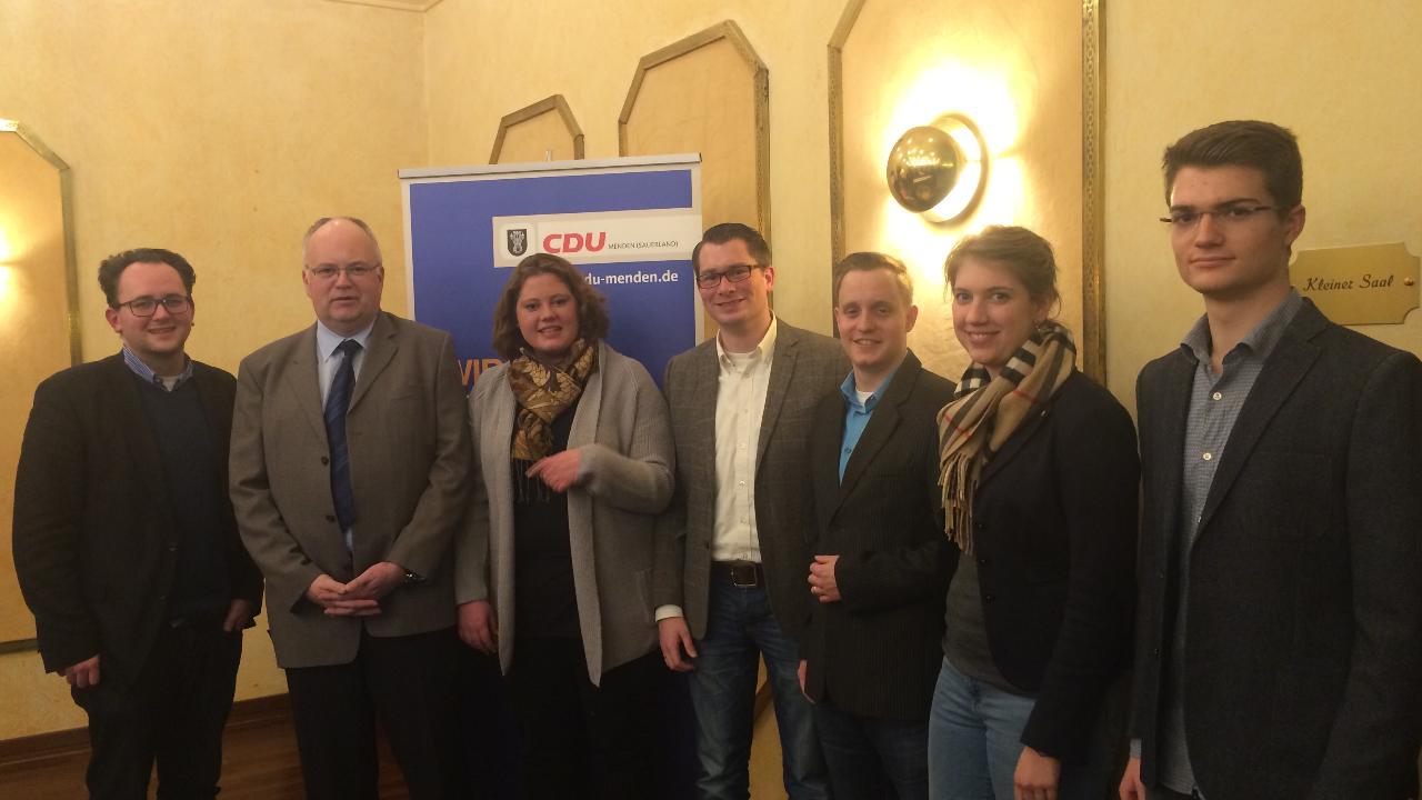 Martin Wächter zum CDU-Bürgermeisterkandidaten gewählt