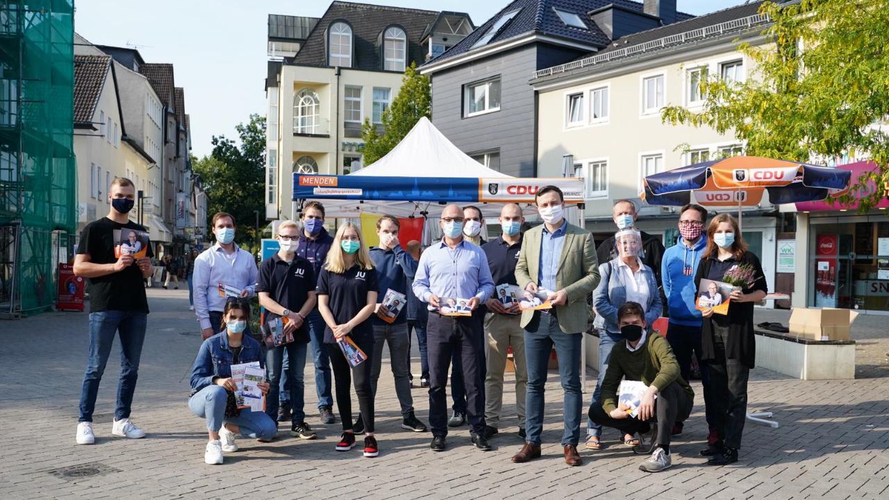 Nach Wahlkampfendspurt: JU Menden ruft zur Wahl auf
