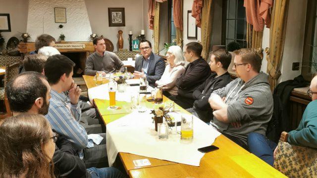Diskussionsrunde zum CDU-Bundesparteivorsitz