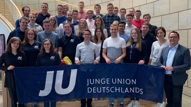 Die JU Mark im Düsseldorfer Landtag