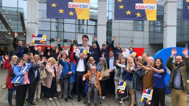 Wahlkampfauftakt in Münster