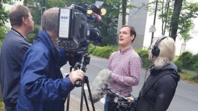 Mike Stern im WDR-Interview zur Fahrradpauschale
