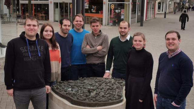 Der Vorstand der JU Menden im Dezember 2019