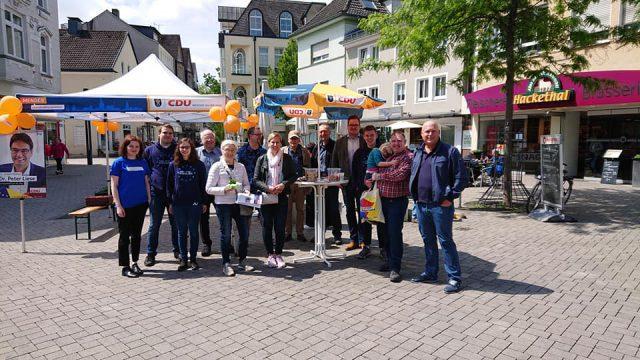 Das Europawahlkampfteam